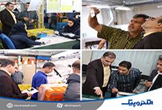 بازدید مدیرکل فنی و حرفه ای استان تهران از شرکت الکتروپیک