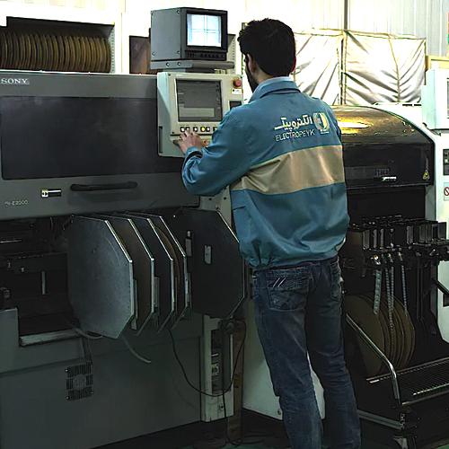 دستگاه تولید برد SMD