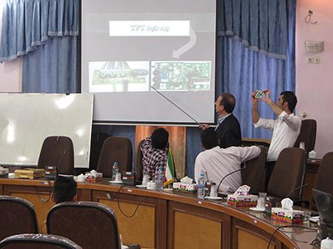 برگزاری همایش آموزشی الکتروپیک و یوتاب در استان های کرمان و اردبیل