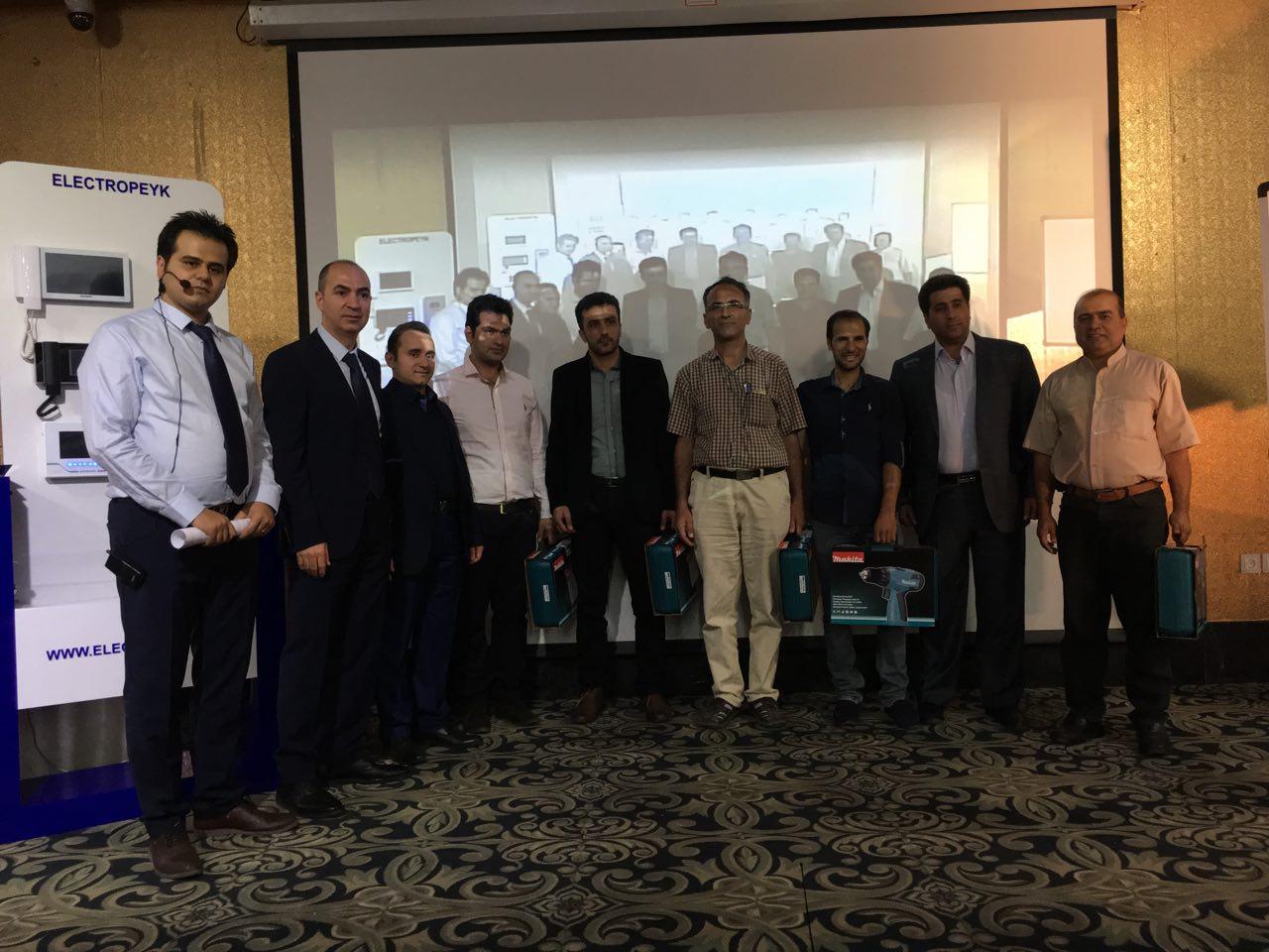 سمینار بزرگ آموزشی شرکت الکتروپیک و یوتاب در اصفهان