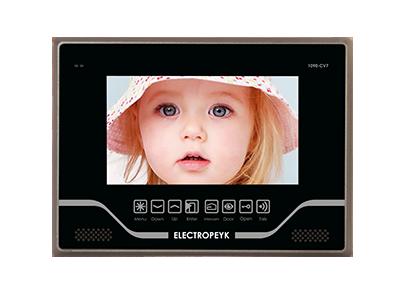 گوشی تصویری رنگی 7 اینچ لمسی